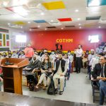 Qasim Ali Shah addresses participants of the Mezban Program at COTHM
